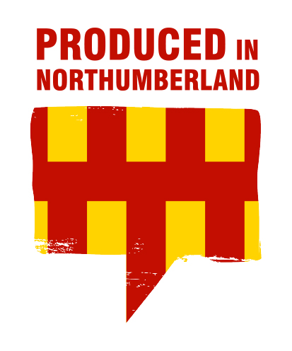 PRODUCED IN NORTHUMBERLAND cmyk